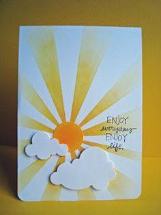 Anjas Karten-Garten: Sunshine