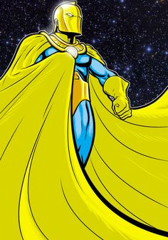 Dr Fate Prestige Commission by Thuddleston on deviantART Dc Comics Characters, Dc Comics Art, Kent Nelson, Comic Books Art, Comic Art, Dc Doctor, Dr Fate, Justice Society Of America, Marvel E Dc