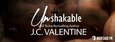 Like contemporary romance? Check out the Cover Reveal for Unshakable by J.C. Valentine ...#IndieSagePR...#JCValentine