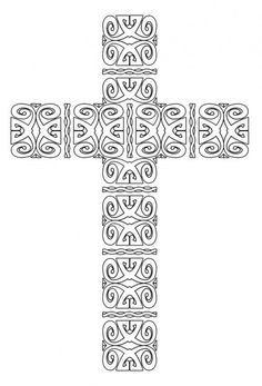 Free Print & Color Crosses - Christian Arts & Crafts