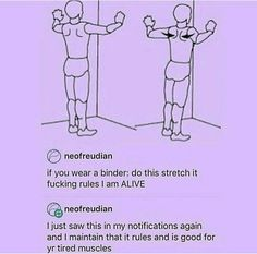 It's really great everyone do it << UNLESS you have hypermobile/loose joints, you can dislocate them very easily like this!!
