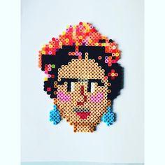 Frida Kahlo vol 1. #fridakahlo #hamabeads #hama #perler #perlerbeads #hamaperler