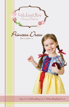 Princess Dress - Little Lizard King - #313