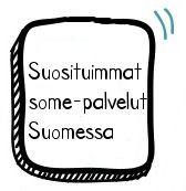 Pinterestin suosio nousee myös Suomessa ja mitä muita some-palveluita suomalaiset käyttävät.