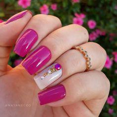 Nail Paint Shades, Gel Nails, Nail Polish, Manicures, Square Nails, Fabulous Nails, Nail Arts, Craft Videos, Summer Nails
