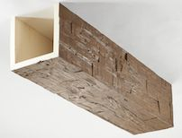 Hand Hewn faux wood ceiling beams.  Volterra Architectural Products: High Density Foam Beams & Headers