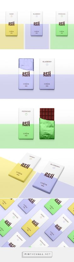 ARTISAN CHOCOLATE BARS / concept / Designed by Alexandra Rusu