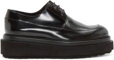 Pierre Hardy - Black Leather Billy Platform Derbys