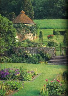 Charleston Manor Garden, East Sussex...