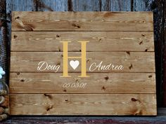 Custom Wedding Decor & Gifts - Home Decor & Gifts by ReclaimedOregon