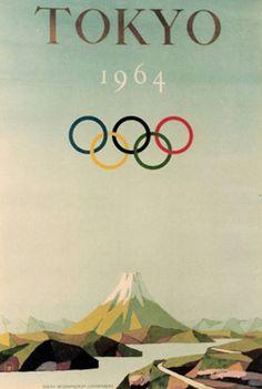 Tokyo 1964 Winter Olympics poster