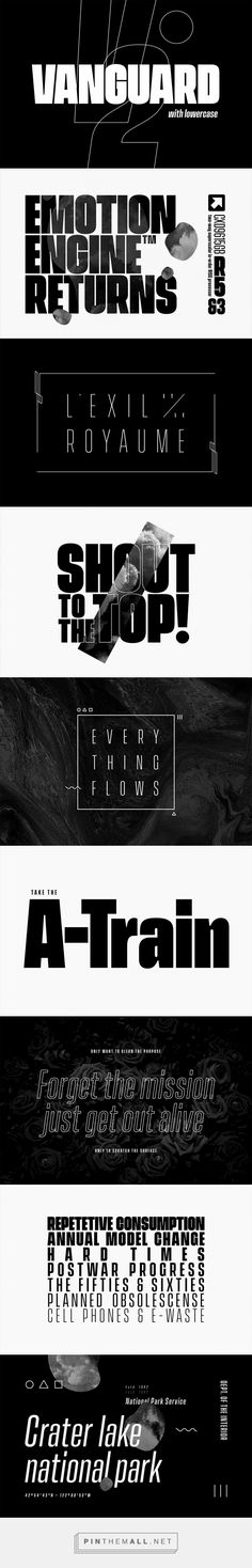 Vanguard CF - Desktop Font & WebFont - YouWorkForThem - created on Crater Lake National Park, National Parks, View Source, Your Image, Fonts, How To Plan, Pictures, Designer Fonts, Photos