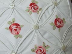 Cathedral window quilts   Thread: Cathedral Window Quilted Cushion