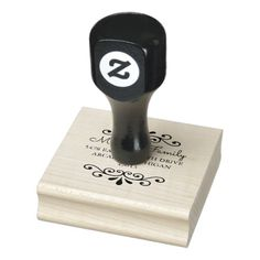 Shop Merry Christmas Calligraphy Return Address Rubber Stamp created by MCPaperShop. Personalize it with photos & text or purchase as is! Apple Tv, Octopus, Save The Date Stamp, Custom Rubber Stamps, Address Stamp, Address Labels, Wood Stamp, Stamp Making, Ink Pads