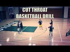 Cut Throat Basketball Drill ( Basketball defense and competitive drill)