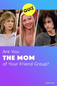Personality quiz to find out who the mom of the friend group is. #personalityquiz #friendsquiz #friendshipquiz #aboutyourself #momstyle #whoareyou #friendship #momquiz #quizforfriends #motherofthegroup #themom #Squad #GroupMom #MonicaGeller #Friends #mom #mother Color Personality Test, Personality Quizzes, Mom Style, How To Find Out, Friendship, Friends Mom, Squad, Group, Personality Tests