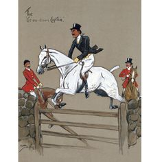 Snaffles - Charlie Johnson Payne Horse Prints - The Cut-Em Down