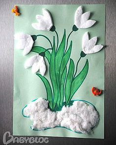 Bee Crafts, Arts And Crafts Projects, Flower Crafts, Preschool Crafts, Diy And Crafts, Paper Crafts, Mothers Day Crafts For Kids, Easter Crafts For Kids, Art And Craft Design