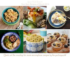 Your Best Recipes of March -- Your Best Recipe event on SpicieFoodie.com | #recipes #YBR