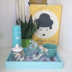 Kit higiene para mamães moderninhas. Para inovar na decoração do quarto do bebê. Tema London.