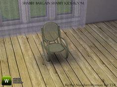 TheNumbersWoman's Shabby Bargain Shabby Chic Kids Small Deco Chair