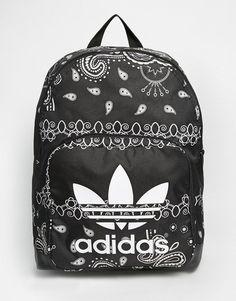 Adidas | adidas Originals Paisley Print Backpack at ASOS