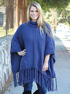 Fun and funky poncho from Annie's Signature Designs!