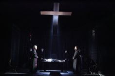 The Exorcist. Geffen Theater. Scenic design by Scott Pask.
