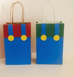 Super Mario Bros Goodie Bags 12 pk , 15 pk or 18 pk