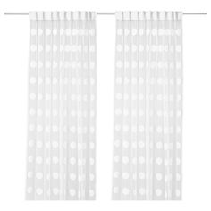 I saw these curtains at IKEA and fell in love!  The picture does not do them justice!  NINNI FIGUR Sheer curtains, 1 pair - IKEA