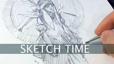 Hello les amis! L'artiste Ahmed Aldoori vous montre dans cette vidéo la réalisation d'un dessin au porte-mine 2 mm Penxo. Ce porte-mine issu d'un projet Kickstarter se veut minimalisme, pourtant le prix ne l'est pas. Sa particularité est qu'il n'y a pas de boutons, de ressorts et d'autres mécanisme. Dessiner avec un porte-mine 2 mm est agréable pour ceux qui veulent faire des croquis. Vous trouverez dans notre boutique de vente de matériel de dessin différents porte-mines 2 mm à des prix…