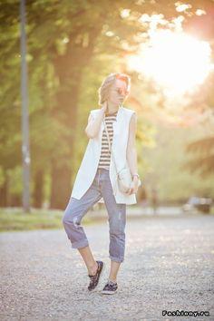 Жакет без рукавов, он же удлиненный жилет (100 образов) / жакет без рукавов фото осень
