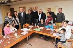 Fritz Güntzler informiert sich über Flüchtlingsunterbringung