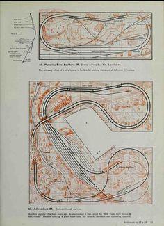 101 track plans for model railroaders O Train, N Scale Layouts, Model Railway Track Plans, N Scale Trains, Hobby Trains, Model Train Layouts, Hobby Shop, Model Trains, Scale Models