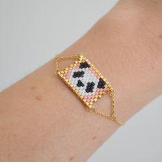 Bracelet Panda perles les cleias