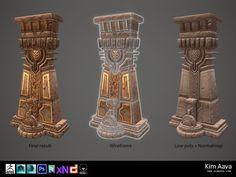 Nordic Environmet - Pillar by Mad-Owl.deviantart.com on @DeviantArt