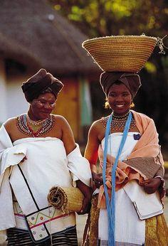 Xhosa Bride, Lesedi Cultural Village, South Africa.
