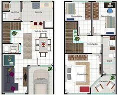 Resultado de imagen para planos para primero piso con cochera