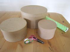 DIY Tutorials} Hat Box Cupcake Tower - A Blissful Nest