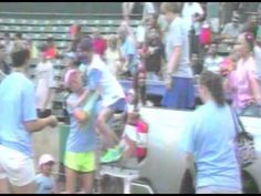Fierce Fallon & Pink in the Park COMBINE FOR A $10,000 WEEKEND - http://www.beachcarolina.com/2014/08/07/fierce-fallon-pink-in-the-park-combine-for-a-10000-weekend/ Weekend Proves Successful for Charities at Pelicans Ballpark   MYRTLE BEACH, SC August 7, 2014 – The reason behind Vice President & General Manager Andy Milovich's in-game prostate exam on July 24 came full circle this past Saturday with Coaches vs. Cancer Night. Milovich agreed to th... Beach Caro