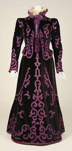 Suit   late 1890s