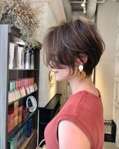 50 Latest Short Hairstyle Ideas for Women Are you looking for new short hairstyles to change your style? Then you are in the right place! Here we have prepared 50 latest short hair ideas. This will inspire you. Latest Short Hairstyles, Girls Short Haircuts, Short Hairstyles For Thick Hair, Cool Hairstyles, Hairstyle Ideas, Hair Ideas, Short Dark Hair, Short Hair With Layers, Short Hair Cuts For Women