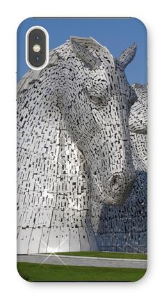 the Kelpies 1121, the Helix , Falkirk , Scotland Phone Case – Photogold Scottish gifts Clydesdale Horses, Scottish Gifts, New Phones, Original Image, Scotland, Sculptures, Photo Gifts, Phone Cases, Throw Pillows