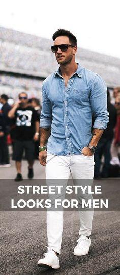Street style looks for men magic fox
