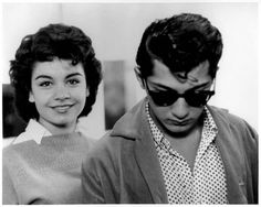 Annette and Paul Anka.