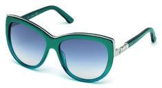 Model SK0091 from #Swarovski's Spring-Summer 2015 #eyewear collection. #fashion #sunglasses