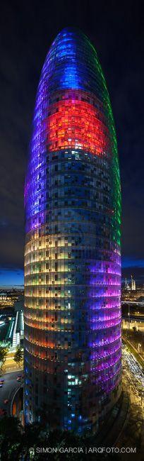 Torre Agbar + Barcelona
