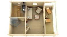 x custom Log cabin garden pool house sauna combo building kit Diy Sauna, Sauna Ideas, Garden Lodge, Sauna House, Outdoor Sauna, Sauna Design, White String Lights, Caravan Renovation, Hobby House