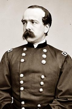 Major General Daniel Butterfield, officer of the Federal Army (October 31, 1831 – July 17, 1901). Butterfield continued in brigade command at the Second Battle of Bull Run and the Battle of Antietam, became division commander, and then V Corps commander for the Battle of Fredericksburg. He was promoted to major general in March 1863 with a date of rank of November 29, 1862.