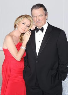 Melody Thomas Scott and Eric Braeden aka Victor and Nikki!
